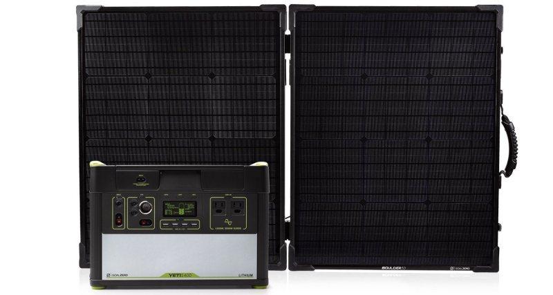 Goal Zero Yeti 1400 Lithium Solar Kit
