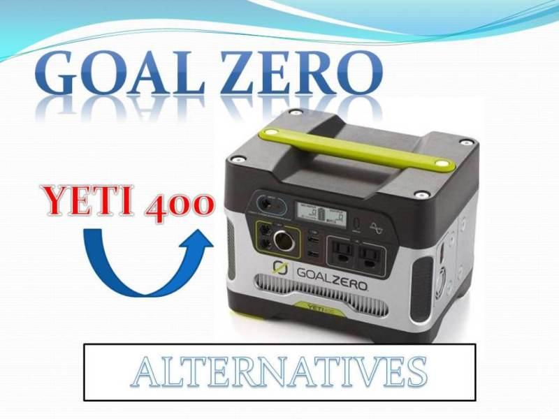 Goal Zero Yeti 400 Alternatives