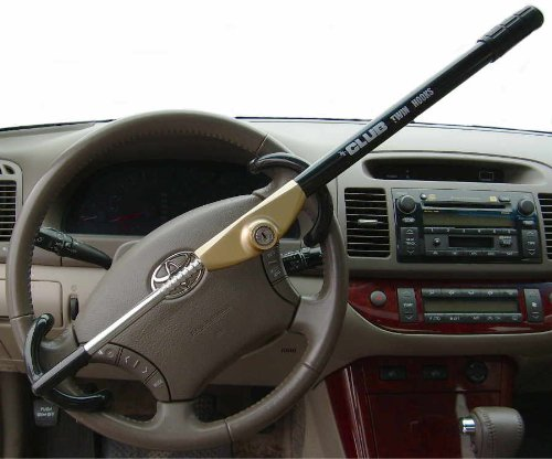 The Club Twin Hooks Steering Wheel Lock