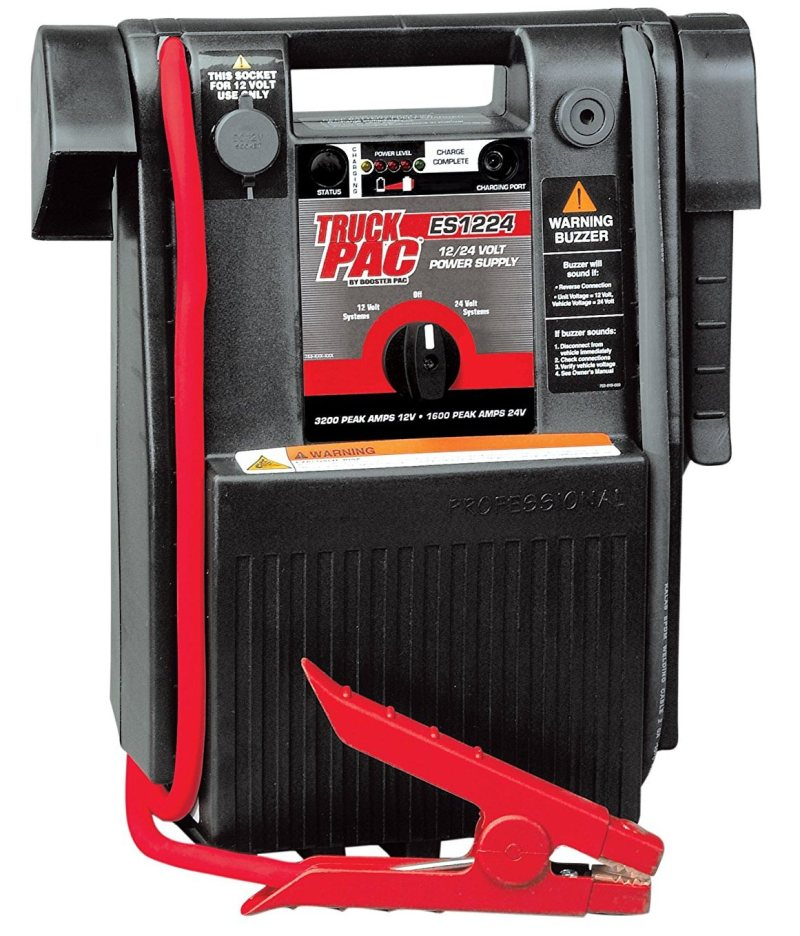 Best Portable Jump Starter For Trucks, V6 And V8