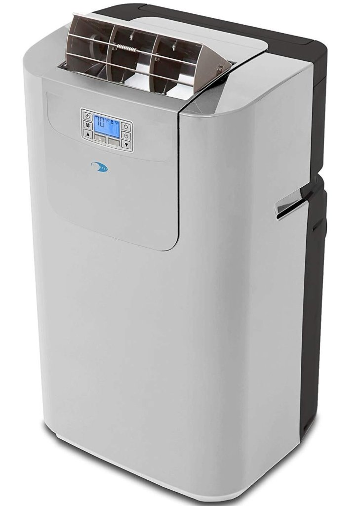 Whynter Elite ARC-122DHP 12,000 BTU Dual Hose Portable Air Conditioner And Heater