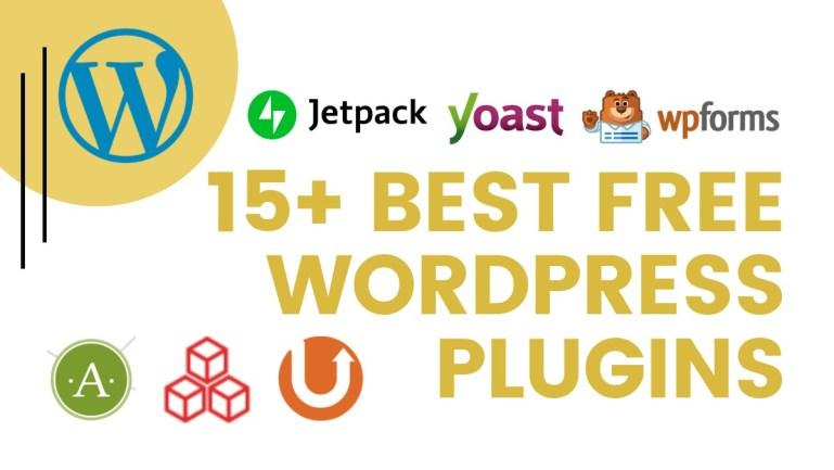 15+ best wordpress plugins