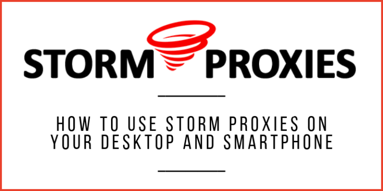 How to use Storm Proxies
