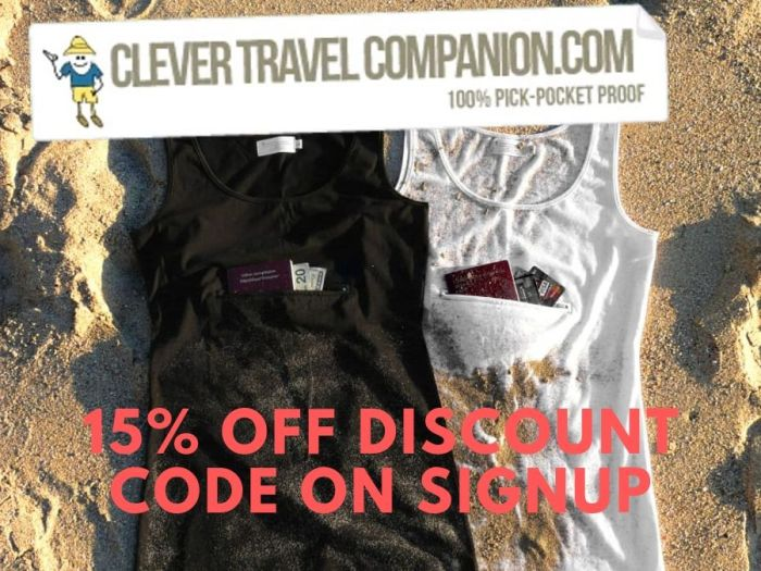 Clever Travel Companion Discount Coupon