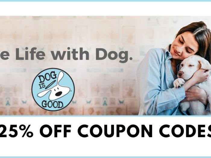 Dog is Good Promo Code