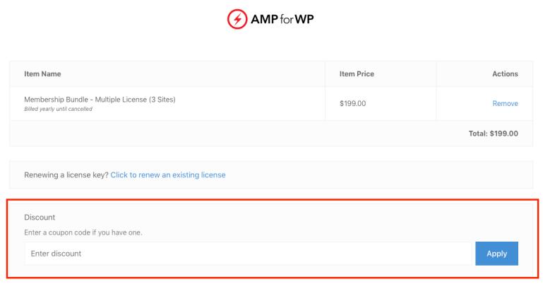 AMPforWP coupon codes