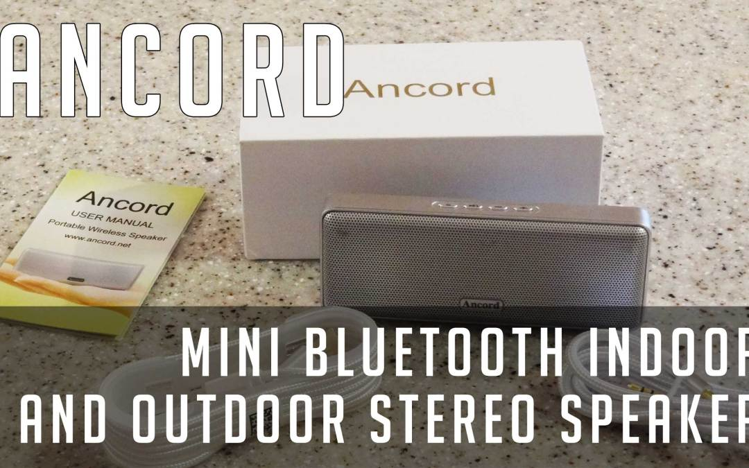 Review: Ancord Mini Bluetooth Speaker 6W+ Super Portable Wireless Indoor and Outdoor Stereo Sound (Silver)