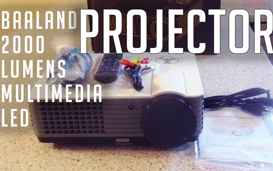 Review: Baaland 2000 lumens multimedia LED projector