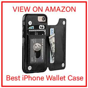 iPhone 8 Wallet-Case with Card Holder
