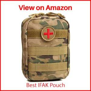 Orca Tactical MOLLE EMT Medical First Aid IFAK Utility Pouch