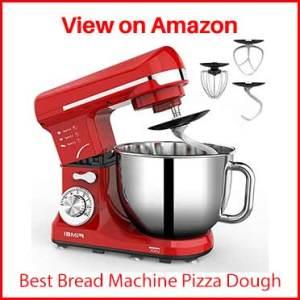 FIMEI Stand Mixer 550W, 5.5-Qt Dough Mixer, 6-Speed Tilt-Head Kitchen Mixer