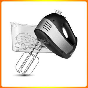 Hand-Mixer-Electric,-Cusinaid-5-Speed-HandMixer-with-Turbo