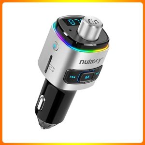 Nulaxy-7-color-Bluetooth-Transmitter-for-Car