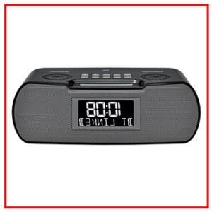 SANGEAN RCR 20 DIGITAL AM FM RDS BLUETOOTH CLOCK RADIO WITH USB CHARGER
