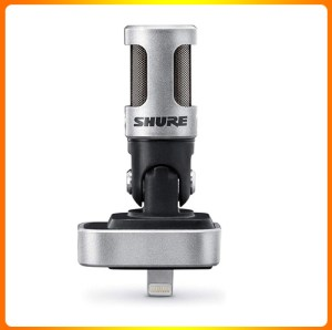 Shure MV88 Portable iOS Microphone for iPhone