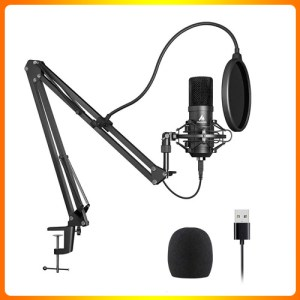 USB Microphone Kit 192KHZ/24BIT Plug & Play