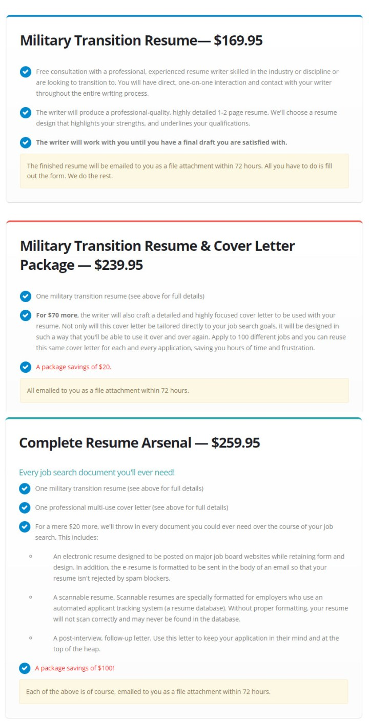 Military-Resume-Review