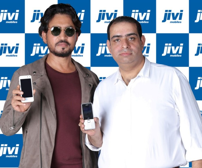 Pankaj Anand and Irrfan Khan