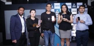 From left to right Mr. Kartik Aggarwal, Ms. Jessy Liu, Mr. Ashwin Bhandari, Ms. Radhika Aggarwal, Mr. Nitin Kochhar