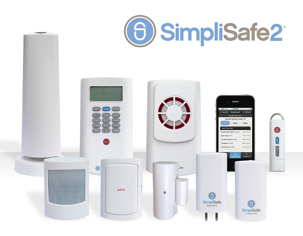 Wireless Security System Simplisafe
