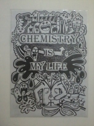 Beautiful doodle made by my student, Alvin.