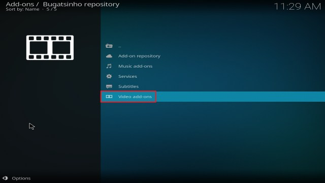 Step 21 Installing Release BB on Kodi