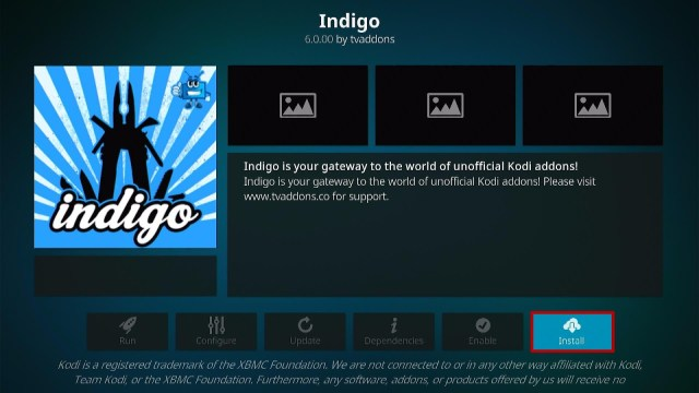 Step 20 Install Indigo Wizard