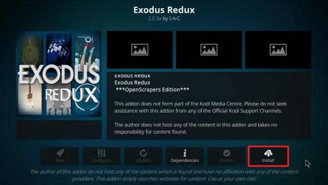 exodus redux install step 23