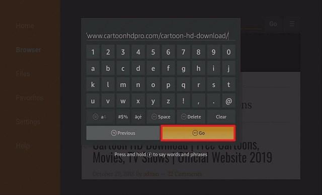 Step 12 Install Cartoon HD on Firestick