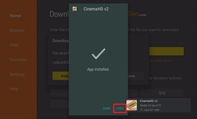 Step 14 Install Cinema HD on firestick