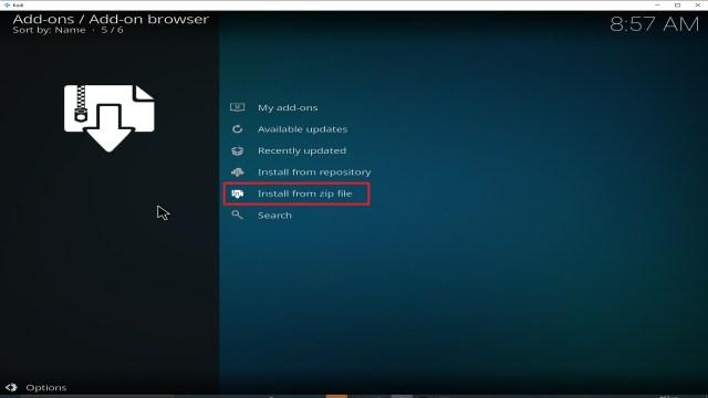 Step 16 Installing cCloud TV addon on Kodi