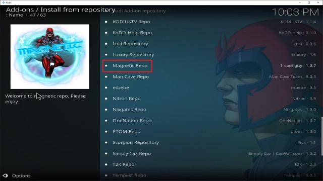 Step 20 Installing Kratos Reborn addon on Kodi