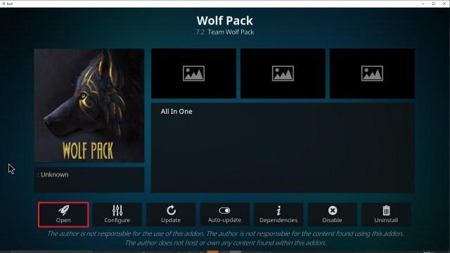 Step 26 Installing Wolf Pack addon on Kodi