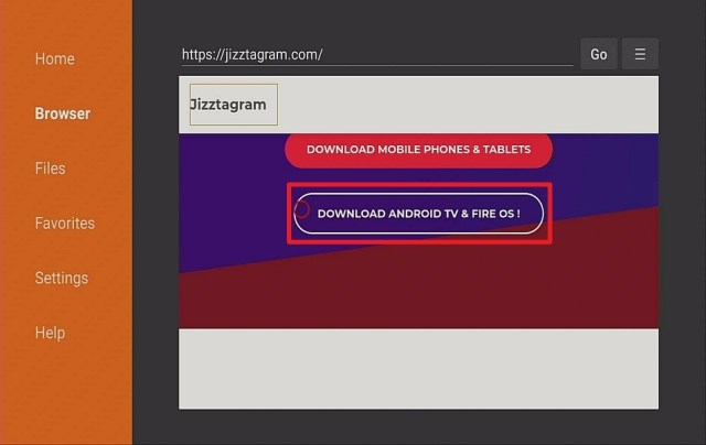 Step 13 Install Jizztagram on Firestick