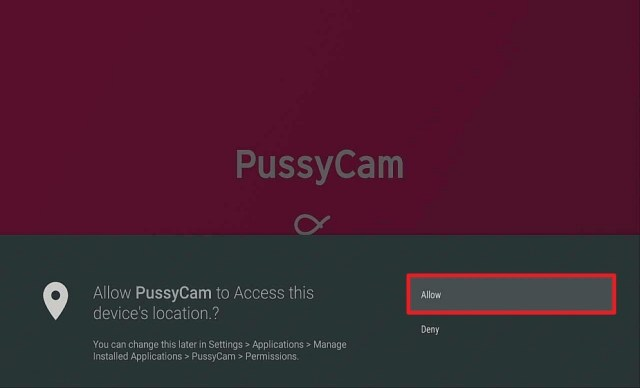 Step 15 Install Pussycam APK on Firestick