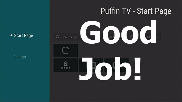 install puffin tv on a firestick step 18