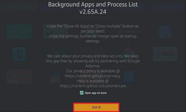 Step 6 Install Background Apps and Process List on a Firestick