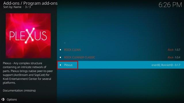 Step 18 How to Install Plexus Kodi Addon