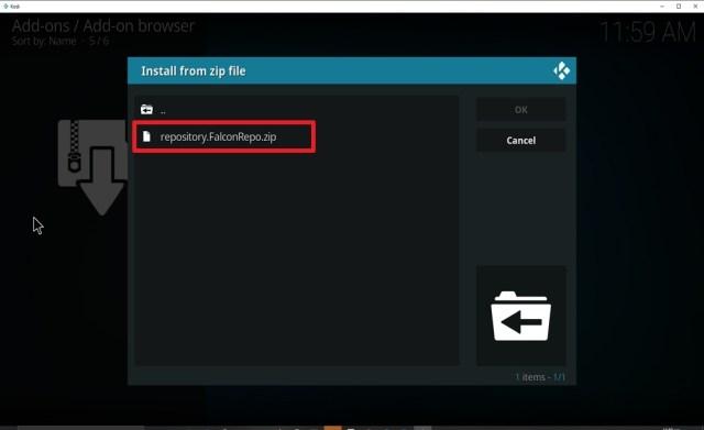 Step 17 Install Cryptonite on kodi