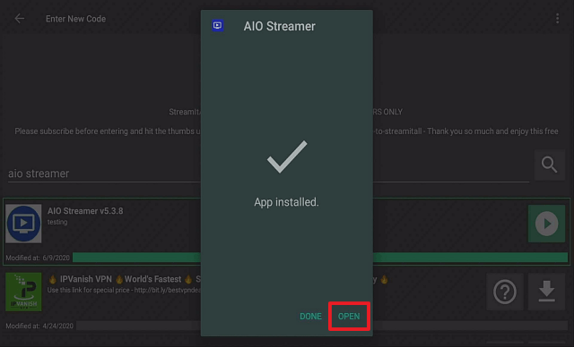 Step 23 Install AIO Streamer on a Firestick