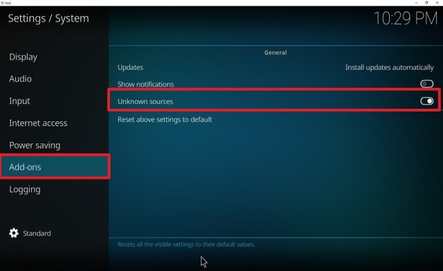 Step 3 Install Now Music USA on kodi