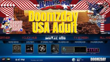Doomzday usa adult logo