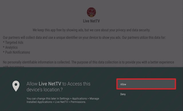 Step 16 Install Live NetTV on firestick