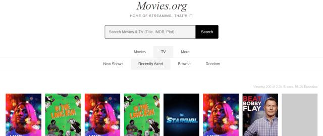 MoviesOrg Screenshot