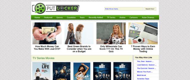 Putlocker Screenshot