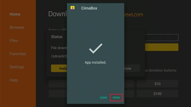 Install Cimabox2