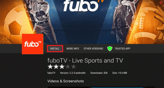 Install Fubo TV on your Fire TV Stick 22