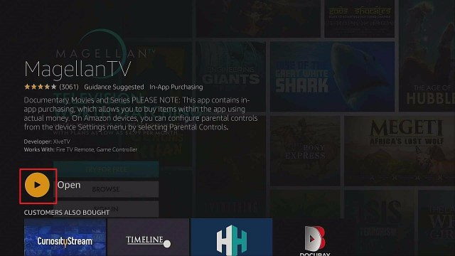 Step 5 Install Magellan TV App On Firestick
