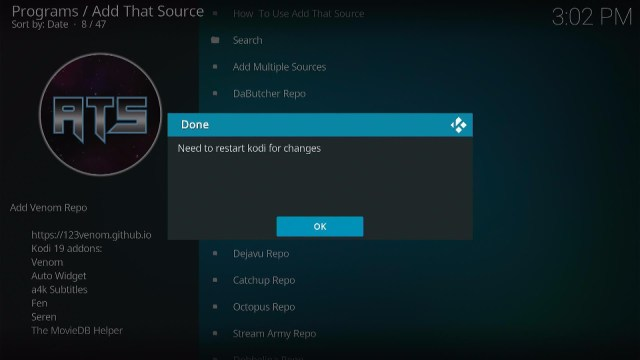 How to Setup Add That Source Step 4