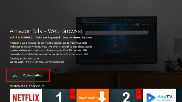 How to Watch Skorlive.com on Firestick Device Step 5